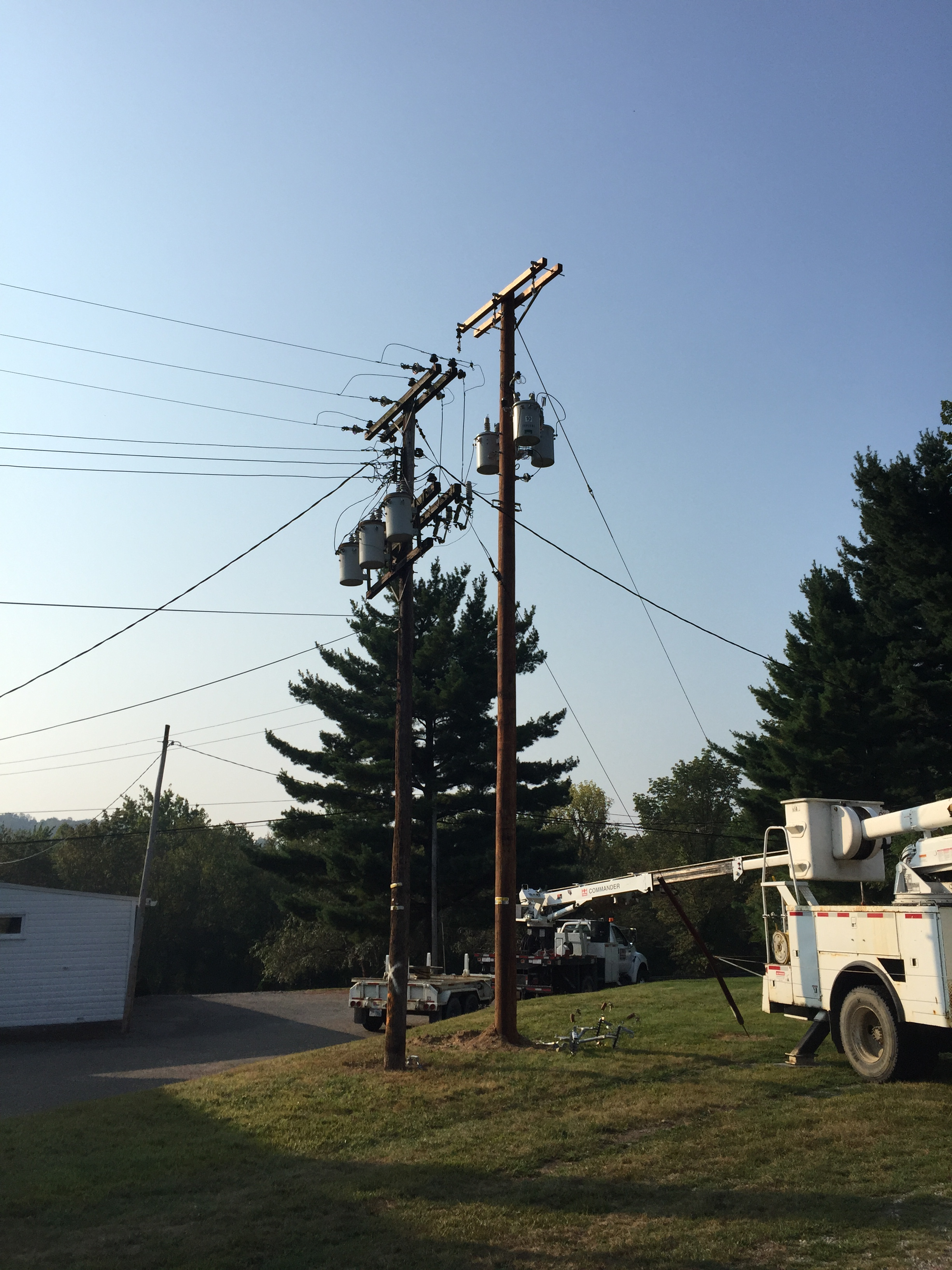 AEP Distribution Pole Change Outs